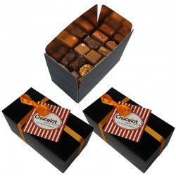 Abonnement coffret de 23 chocolats sans sucre ajouté