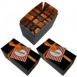 Abonnement coffret de 95 chocolats sans sucre ajouté