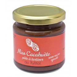 Miss Cacahuète - crème à tartiner sans sucre ajouté
