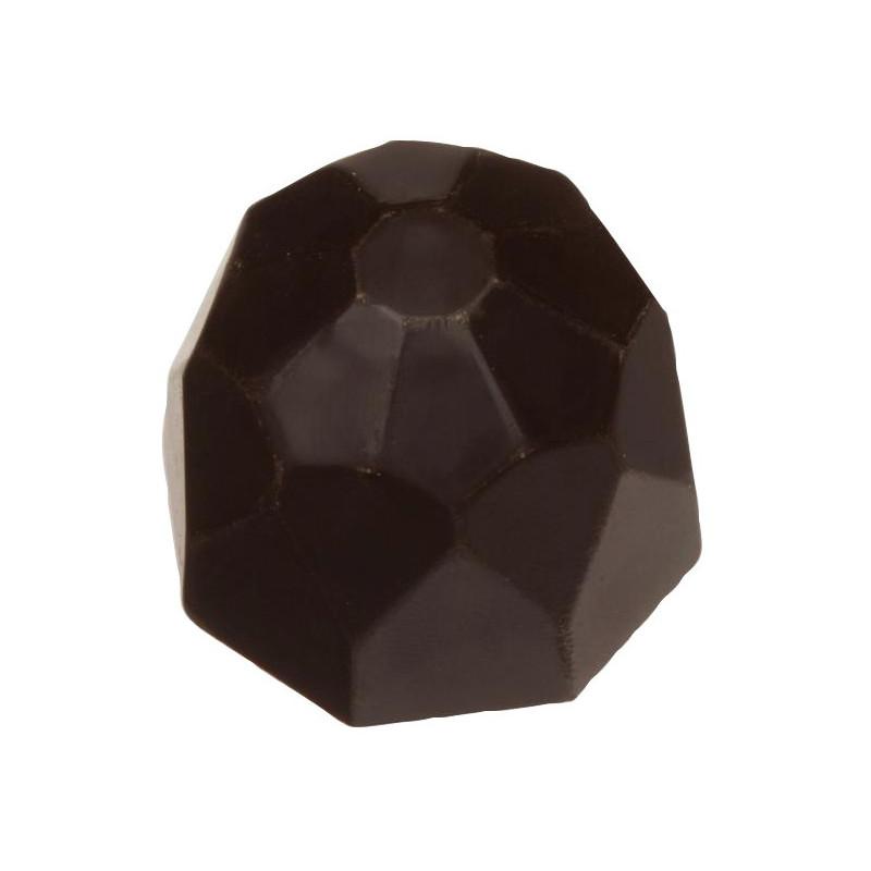 Chocolat Diamant Noir Valentino -  Ganache au chocolat blanc - chocolat sans sucre