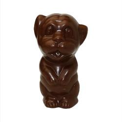 Lion en chocolat sans sucre