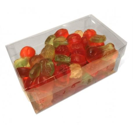 Coffret bonbons gélifiés sans sucre - mûres et cerises