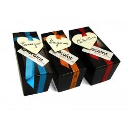 Trio dégustation - Ballotins chocolat sans sucre belge