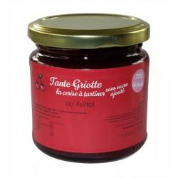 Tante Griotte, la tartinade sans sucre ajouté à la cerise aigre