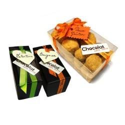 Trio Dégustation Choco-Sablés - Biscuits & Chocolats sans sucre ajouté