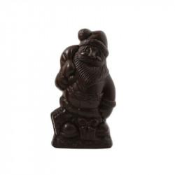 Sujet Père Noël chocolat noir - 85g