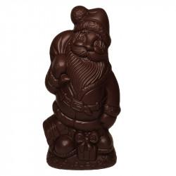 Père Noël en chocolat noir sans sucre ajouté