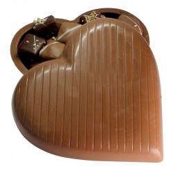 Coeur à garnir de chocolats sans sucre