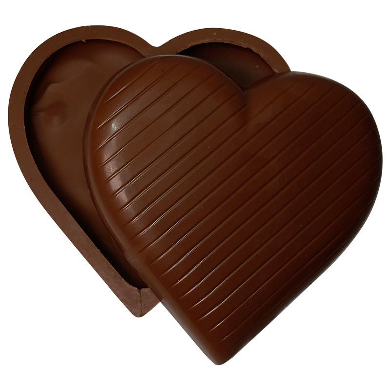 Coeur à remplir chocolat noir - 170g