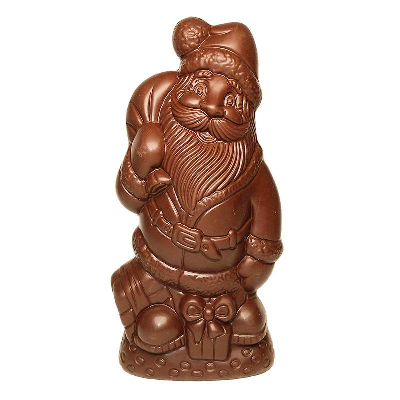 Père Noël au chocolat au lait sans sucre ajouté