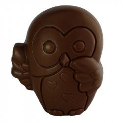 Sujet Hibou chocolat noir - 45g
