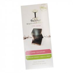 Tablette de chocolat sans sucre ajouté - Chocolat noir 72% - 85g