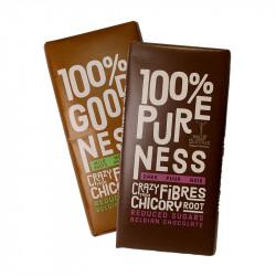 Duo de tablettes chocolat noir & chocolat au lait, racines de chicorée - Balance - 2x 85g