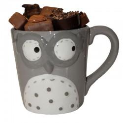Tasse Hibou Chocolat Sans Sucre