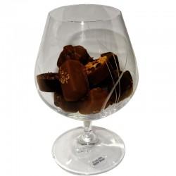 Verre à Cognac et Chocolat